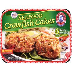 Southern Belle Seafood Crawfish Cakes, 6 count, 12 oz
