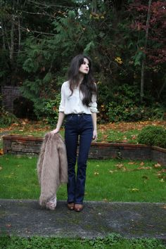 Life In Red Lipstick: November 2015 Pretty Outfits, Cute Outfits, Blank Denim, Fashion Catalogue, New Wardrobe, Capsule Wardrobe, Love Her Style, Poses, Well Dressed
