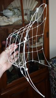 Beauty From Ashes: Wire Frame 1863 Bonnet