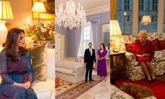 12 beautiful royal living rooms: Prince William and Kate Middleton, the Queen, Princess Mary