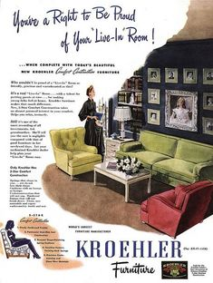 Top Home Appliances Brands Key: 1608641408 Patio Furniture Redo, Furniture Ads, Apartment Furniture, Vintage Furniture, Steel Furniture, Luxury Furniture, Office Furniture, Retro Advertising, Vintage Advertisements