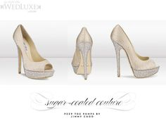 Jimmy Choo's-wedding heels!? my not getting married, but does it matter with shoes like this?
