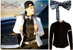 #HAUTEBUTCH can help you put a HOT outfit together, start with a bowtie, our black dress shirt, black snapback and a little of your own personal flair! All these items are available in the online store http://www.hautebutch.com/hbshop