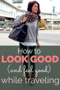 How to Look (and Feel) Good While Traveling – – travel outfit plane long flights Travelling Tips, Packing Tips For Travel, Travel Advice, Travel Hacks, Travel Ideas, Travel Essentials, Airplane Essentials, Smart Packing, Paris Packing