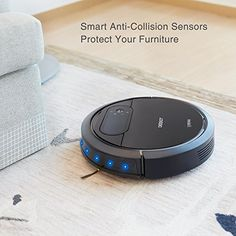 ECOVACS Robotic Vacuum Cleaner, Tangle-free Suction for Pet Hair, Hard Floor - Automatic Floor Cleaning Robot, DEEBOT N78
