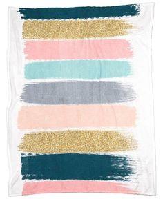 Zara - Brushstroke Glitter Trendy Girly Art Print And Phone Case For Young Trendy Girls Framed Art Print by Charlottewinter - Vector Black - Girly, Zara, Imagenes Free, Color Bordo, Teal And Pink, Navy Blue, Blush Pink, Dark Teal, Winter Art