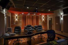 Dallas Audio Post Control C Audio Post Production, Production Studio, Music Production, Late Night Show, Recording Studio Design, Black Desk, Acoustic Panels, Home Studio, Spring Cleaning