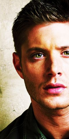Jensen Ackles. Thank you God for putting such a fine specimen into this world. His eyes are my favorite part.