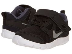 Nike Kids Free Run 5.0 (TDV) (Infant/Toddler) Black/Dark Grey/White/Metallic Silver - Zappos.com Free Shipping BOTH Ways