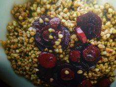 ricette con grano saraceno - al vino rosso