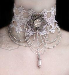Beautiful lace choker