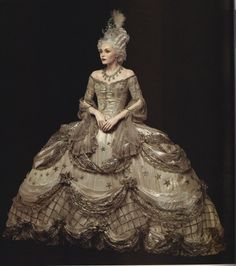 Costume designed by Adrian for Marie Antoinette - 1938