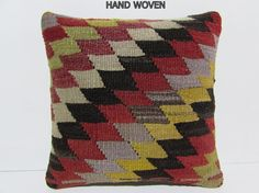 geometric decorative kilim pillow salon turkish kilim pillow summer kilim pillow cover black turkish decorative pillow kelim rug pillow D714