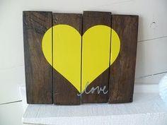 DIY- Wood art