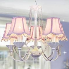 Image result for girls chandeliers for bedroom