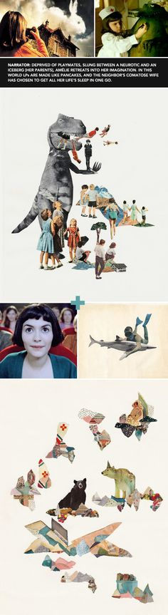 real art for a fictitious world: amelie by the @JealousCurator /sfgirlbybay