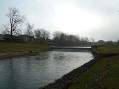 Exeter Ontario Dam. Great for sliding as a kid and swimming. Lots of catfish.