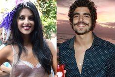 Caio Castro e Anajú Dorigon trocam beijos em festa http://ift.tt/2v6jD15