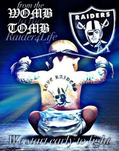 Raider Nation For Life