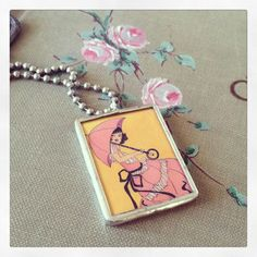 Cute soldered necklace
