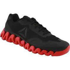 Reebok Zigpulse Running Shoes - Mens Black Red