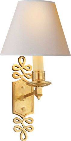 Obsessed with these - Ginger single arm sconce, Circa Lighting