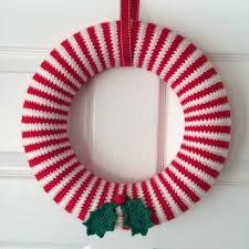 crochet christmas wreath - Google-Suche