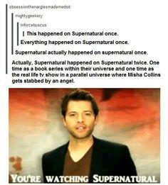 Supernatural is Supernatural