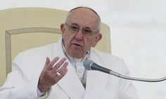 Speaking today he said 'many' Catholics lead a hypocritical double life. In improvised comments in the sermon of his private morning Mass in his residence, he called it a 'scandal'. Double Life, Confidence Quotes, Pope Francis, Atheism, Vatican, Scandal, Catholic, Religion, Spirituality