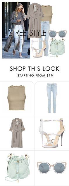 """Streetstyle #58"" by romi-kella on Polyvore featuring Ally Fashion, Frame Denim, Monki, Giuseppe Zanotti, Salvatore Ferragamo and Erdem"