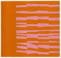 Pink and Orange from the series Line Form Color Ellsworth Kelly (American, born Museum of Modern Art. Ellsworth Kelly, Hard Edge Painting, Painting & Drawing, Abstract Expressionism, Abstract Art, Robert Rauschenberg, Joan Mitchell, Museum Of Modern Art, Pablo Picasso