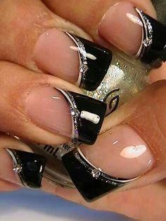 Nailart All You Need to Know about Hair Follicle Drug Testing Hair sample drug testing is a great wa Black Nail Designs, Toe Nail Designs, Acrylic Nail Designs, Fabulous Nails, Gorgeous Nails, Pretty Nails, Elegant Nails, Stylish Nails, Black E White