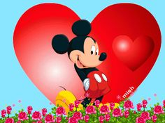 H Mickey Mouse Images, Mickey Minnie Mouse, Disney Magic, Walt Disney, Image Mickey, Profil Facebook, Flash Animation, Love Me Forever, Scrapbook Paper Crafts