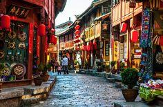 As cidades mais coloridas do mundo - Lijiang, China