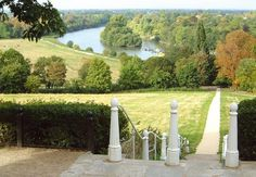 This photograph of the famous View from Richmond Hill, overlooking the River Thames is the only view in England that is protected by an Act of Parliament. This is called the Richmond, Ham and Petersham Open Spaces Act. It was passed in 1902, to protect the land on and below Richmond Hill, thus preserving the great fore