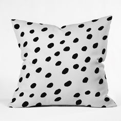 Rebecca Allen Dinner At Eight Throw Pillow | DENY Designs Home Accessories