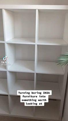 Ikea Furniture Hacks, Smart Furniture, Home Decor Furniture, Handmade Home Decor, Cheap Home Decor, Room Ideas Bedroom, Bedroom Decor, Dream Home Design, Home Room Design