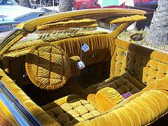 The Hog Ring Auto Upholstery Community Lowrider Interior Car Seat These Are Both Beautiful