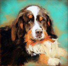 Custom pet portrait. Original oil painting. by chrisartpainting