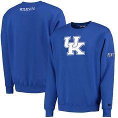 Kentucky Wildcats Colosseum Zone II Crewneck Sweatshirt - Royal - $30.39