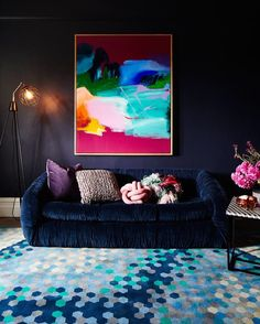 The Fall Collection has officially launched today over on #rebeccajuddloves by @becjudd.  We embrace the comfort and intimacy our homes provide as the days shorten and the sun sinks in the sky. The floors are adorned with luxurious pure Merino wool and Bengali silk carpets painstakingly designed and developed by @mrfentonsrugs and appearing now for the first time head to our website to shop the new collection.  To celebrate the change of the seasons we are giving 5 lucky followers the…
