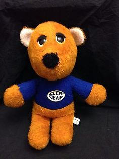 15-VINTAGE-ANIMAL-FAIR-DARK-BROWN-TEDDY-BEAR-STUFFED-ANIMAL-PLUSH-TOY-HENRY