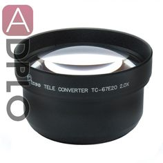63.05$  Buy here - http://ali3wy.worldwells.pw/go.php?t=1751386772 - Professional 67mm 2.0X Tele Lens PRO-Black Suit for Canon Nikon Pentax Sony Camera Lens