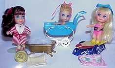 Original Liddle Kiddles - 1966-Played with these as a child.