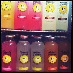 it's a little crowded in here, but me in all flavors is always good ;) #huberts #lemonade