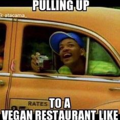 Me every time I'm in LA. You mean I can order anything off the menu?! #vegan #ishouldmovehere #homeawayfromhome by ms.bomber