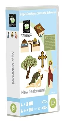 This one is going to be a great help in the next couple of weeks. - Cricut Cartridge - New Testament