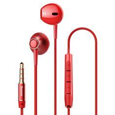 Castile Baseus H06 au o mufa jack de 3.5 mm. Datorita stilului in-ear, acestea raman fixate in ureche. Totodata, au un efect tridimensional obtinut prin doua decupaje pe fiecare casca. Bluetooth, Headphones, Ear, Headpieces, Headset, Ear Phones