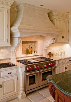 traditional range hood cover with corbels 4 types of kitchen range