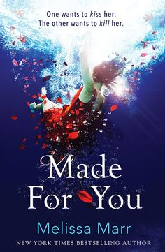 Made For You UK/Aus cover - Melissa Marr. I love the colors plus Marr's explanation on how it fits the plot is pretty cool too :).